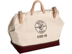 5102 Canvas Tool Bag bottom Leather