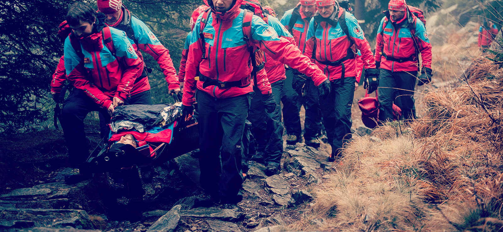 The Czech Mountain rescue team chose Tilak.